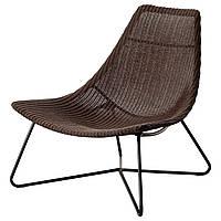 IKEA RADVIKEN Кресло, темно-коричневый, черный  (502.954.72), фото 1