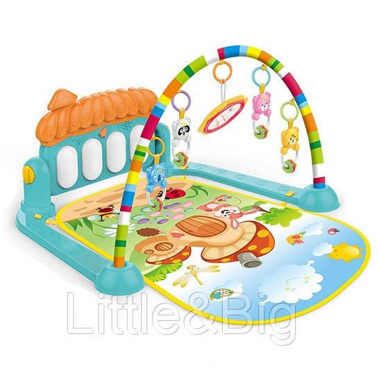 Развивающий коврик-пианино для малышей арт. 0639