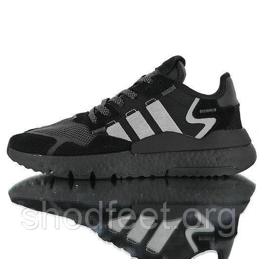 Мужские кроссовки Adidas Nite Jogger Boost Black