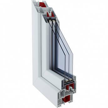 Металопластикове вікно з профілю Gealan S 9000