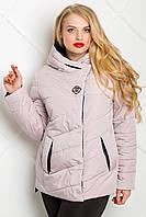 Демисезонная куртка большие размеры 50-62 с капюшоном
