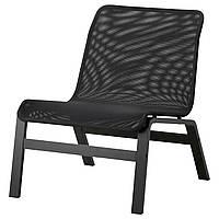 IKEA NOLMYRA Кресло, Черное, Черное  (402.335.35), фото 1