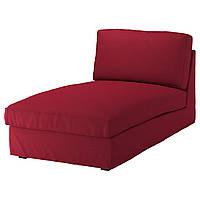IKEA KIVIK Шезлонг, Оррста красный  (692.529.29), фото 1