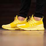 Чоловічі кросівки South Fresh YELLOW, легкі класичні жовті кросівки на літо, фото 2