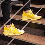 Чоловічі кросівки South Fresh YELLOW, легкі класичні жовті кросівки на літо, фото 3