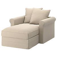IKEA GRONLID Шезлонг, Орда натуральная  (392.556.27), фото 1