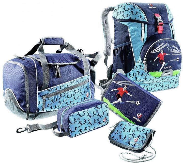 Школьный набор DEUTER ONETWO SET - HOPPER 3880117 3045 (SET), 20л, синий
