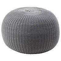 IKEA SANDARED Пуф, серый  (003.853.09), фото 1