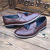 Мужские туфли лоферы броги чоловічі туфлі, фото 3