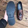 Мужские туфли лоферы броги чоловічі туфлі, фото 5