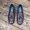 Мужские туфли лоферы броги чоловічі туфлі, фото 4