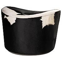 IKEA STOCKHOLM Пуф, Лика белый, черный  (601.032.03), фото 1