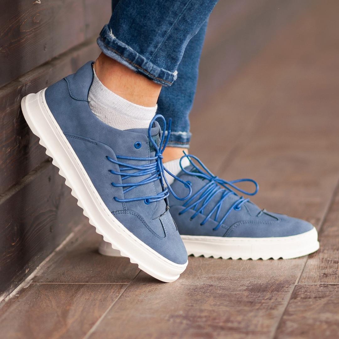 Мужские кроссовки South Rollie Blue, классические кожаные кроссовки, мужские кожаные кеды