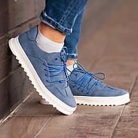 Мужские кроссовки South Rollie Blue, классические кожаные кроссовки, мужские кожаные кеды , фото 1