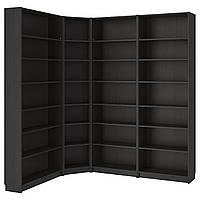 IKEA BILLY Книжный шкаф, черно-коричневый  (290.204.70), фото 1
