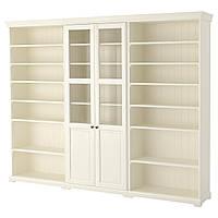 IKEA LIATORP Книжный шкаф, белый  (990.464.43), фото 1