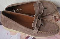 Nona! М'які жіночі мокасини замшеві туфлі весна літо Нона дуже зручні і м'які сліпони натуральна замша
