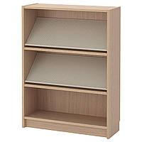 IKEA BILLY/BOTTNA Книжный шкаф с выставочной полкой, дубовый шпон, бежевый  (292.846.06)