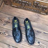 08fea57f613977 Мужские туфли без шнурка лоферы чоловічі туфлі без шнурка