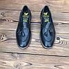 Мужские туфли без шнурка лоферы чоловічі туфлі без шнурка, фото 4