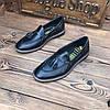 Мужские туфли без шнурка лоферы чоловічі туфлі без шнурка, фото 3