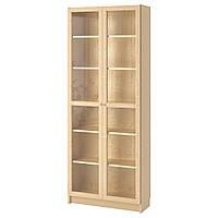 IKEA BILLY/OXBERG Книжный шкаф, березовый шпон  (790.234.09), фото 1