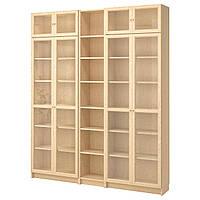 IKEA BILLY/OXBERG Книжный шкаф, березовый шпон  (990.234.08), фото 1