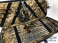Набор шампуров в кейсе КАБАНЫ, подарочный набор, фото 1