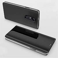 Чехол Mirror для Xiaomi Redmi Note 4x / Note 4 Global книжка зеркальная Black