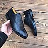 Мужские кожаные туфли броги чоловічі туфлі , фото 4