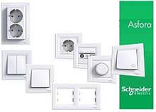 Розетки и выключатели серия Asfora ( Schneider-Electric )