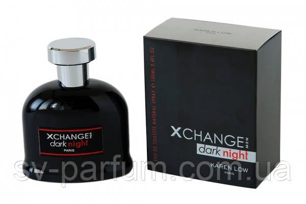 Туалетная вода мужская X - Change Dark Night 100ml