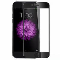 Защитное стекло Walker Full Glue для Apple iPhone 6 / iPhone 6S Черный
