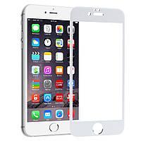 Защитное стекло Walker 5D Full Glue для Apple iPhone 6 / iPhone 6S Белый