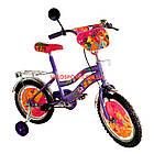 Детский велосипед Mustang Winx 18 дюймов фиолетовый, фото 3