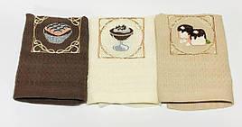 Полотенца вафелькые кухонные Кекс