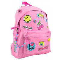 Рюкзак молодежный ST-32 Smiley World, 40.5*31.5*14