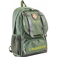 Рюкзак подростковый CA 080, зеленый, 31*47*17