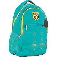 """Рюкзак подростковый CA060 """"Cambridge"""", бирюзовый, 29*14*46см"""