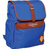 """Рюкзак подростковый CA071 """"Cambridge"""", голубой, 29*13*35.5см"""