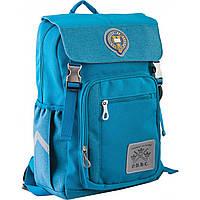 Рюкзак подростковый OX 283, бирюзовый, 28*39*14.5