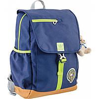 Рюкзак подростковый OX 318, синий, 26*35*13