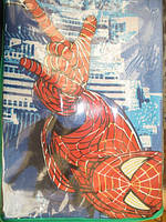 Постельное белье полуторное человек паук