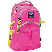 "Рюкзак подростковый Х231 ""Oxford"", розовый, 31*13*47см"