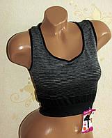 Топ спортивный женский, одежда для фитнеса, 42-48 размер, фото 1