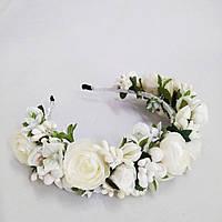 Віночок Білі троянди