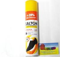 """Спрей-фарба для взуття та замші """"Salton"""" чорний 300 мл"""
