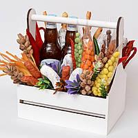 Подарочный набор мужчине / букет мужчине / подарочная корзина / подарок мужчине / набор в корзине / набор пива