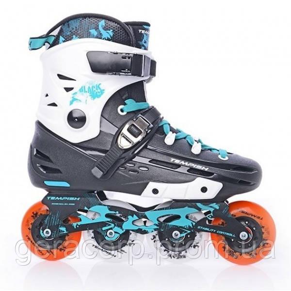 Фрискейт роликовые коньки Tempish Black Ice