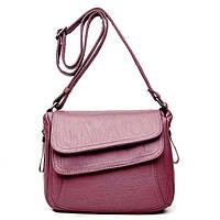 Износостойкая Женская сумка на плечо KAVARD   2 Цвета! Розовый